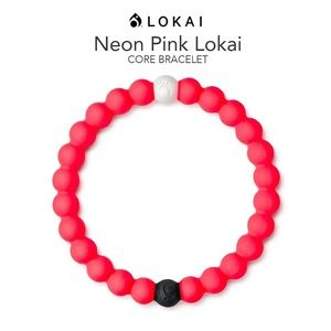 "Lokai Bracelet ""Neon Pink"" Core Collection"
